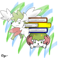 Pokemon Shaymin Character by MultiTAZker