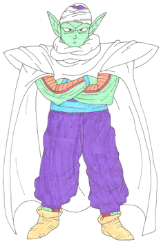 Piccolo by kaleidescopiclee
