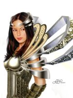 Kristin Kreuk - Metal Wings by lilitus