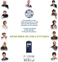Doctor Who - Remember me for Centuries by DoctorWhoOne