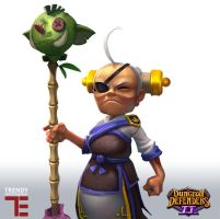 Dungeon Defenders II GranMasta by JordanKerbow