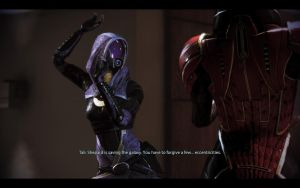 ME3 CDLC Party - Tali by chicksaw2002