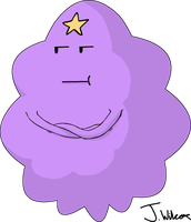 Adventure time Lumpy Space Princess by wilcox6