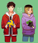 cats by Pottetto