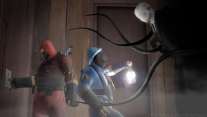 TF2 - Slender Fortress by cfowler7