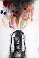 Too many thoughts by Irin