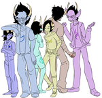 Fatal Gambit: Height Lineup by Wela-Inomae
