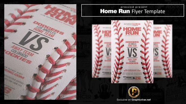 Home Run Flyer Template by prassetyo