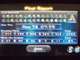 My Updated Pikmin 3 Score by rabbidlover01