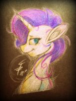 Rarity on Black Paper (Rough 1st Attempt) by Tamikimaru