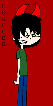 TEENAGE LUCIFER by SouthParkSquid