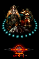 iPhone Barbarian by Holyknight3000