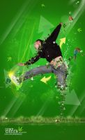 Jump for Green Invasion by boykulas