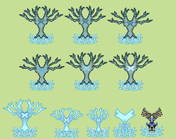 Xerneas (Tree Animation) Overworld by TintjeMadelintje101