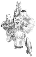 The AVENGERS: Stay Out Of Trouble by Sumo0172