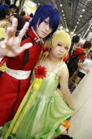 The Princess of Orb and The Prince of ZAFT by miharu-desuu