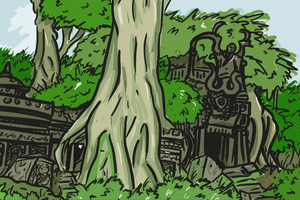 Ancient Ruins by WhoDrewThis