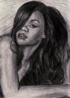 Rihanna BW by Key-Bee
