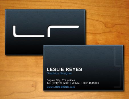 Business Card Sample 2 by LezReyes