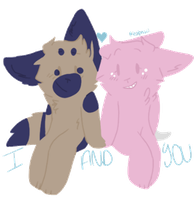 you and i by tealpastel