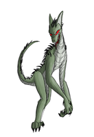 Myths and Monsters - El Chupacabra by DeviantK14