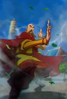 certainly not the last airbender by drazebot