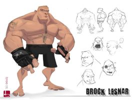 Brocky Brock by redrab8t