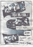 Sex Pistol Flyer by SkinnyJeanPunk