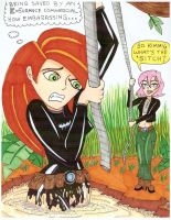 Erin E. rescues Kim Possible by TeenTitans4Evr