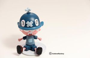 Aden - Whale Boy Blue by ricebowlfactory