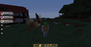 Thats one big Pixelmon Flareon by Dustyfootwarrior