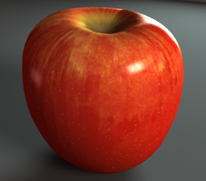 Gala Apple (procedural shading network) by Zaphy1415926