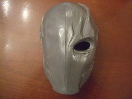 Deathstroke resin mask by TenguYari