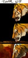 Tiger W.I.P by AndyFairhurst