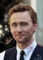Tom Hiddleston by ramessz