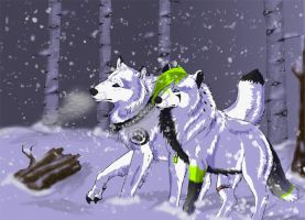 AT: Lost Amongst the Flurries by Ice-cold-Werewolf