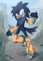 Zaine The Raven by ShiroStaR