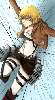 Attack on Titan-Armin Arlert by Ishicle