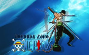 Zoro Wallpaper by KaylaHawK
