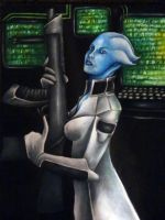 Liara by AzureWyvern