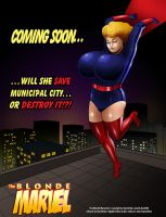 Blonde Marvel fanart 4 by GraphicBrat