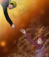 Naruto- Reaching Out by SamRH