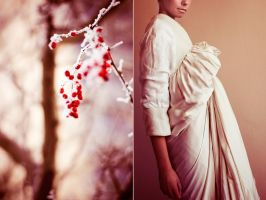 Flourish Diptych by Mhir