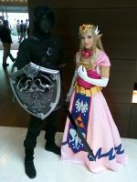Zelda and Dark Link ACEN 2010 by akuriko