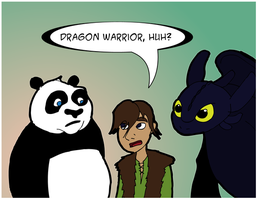 The Dragon Warrior by simpleCOMICS