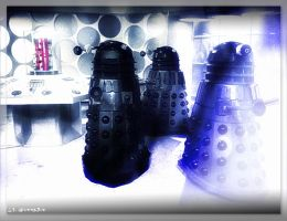 Daleks Invade by WheezingGrampus