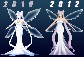 Queen Serenity 2012 WIP 3 by chatterHEAD