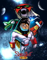 Space Ghost Coast to Coast WIP by KhristianDeMedich