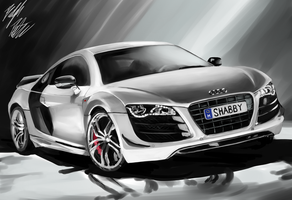 Audi R8 GT by PeterPrime