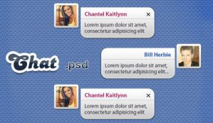 PSD Chat Concept by Graphicclouds